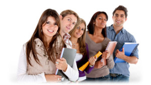 Stock image of a group of teachers